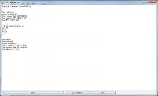 CAO_WC_Server All Infos CAO Faktura WooCommerce Schittstelle Interface - Ramser Elektrotechnik Webshop