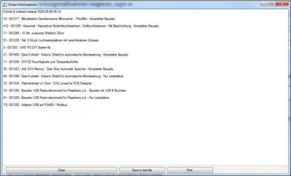 CAO_WC_Server All Ordered Material CAO Faktura WooCommerce Schittstelle Interface - Ramser Elektrotechnik Webshop