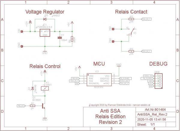 Start Stop Automatik Deaktivieren PCB Schematic R2 - Ramser Elektrotechnik Webshop